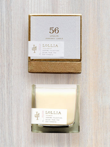 Score From The End Credits Scented Poetic License Candle | Lollia