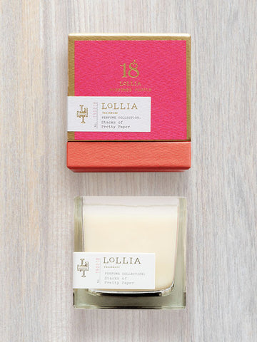 Stacks Of Pretty Paper Scented Poetic License Candle | Lollia