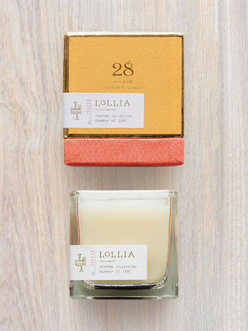Summer of 1982 Scented Poetic License Candle | Lollia