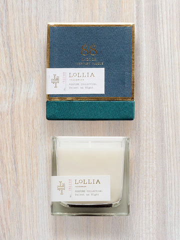 Velvet As Night Scented Poetic License Candle | Lollia