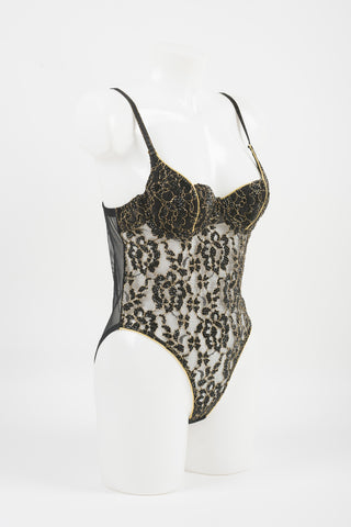 Black BLVD 5th Avenue Bodysuit