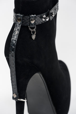 Ebony High Heel Cuffs