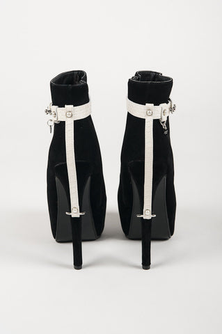 Ivory High Heel Cuffs