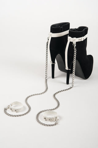 Ivory Heel Restraints