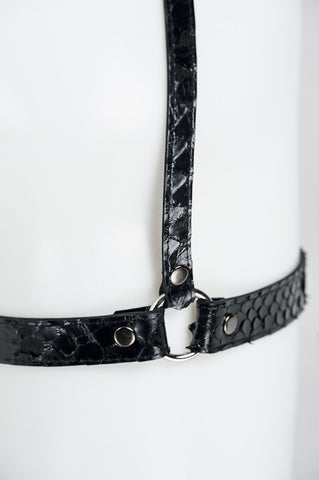 Ebony Garter Belt