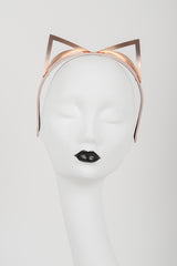 Lolita Rose Gold Kitten Headband - Fräulein Kink  - 4