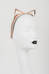 Lolita Rose Gold Kitten Headband - Fräulein Kink  - 1