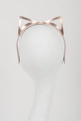 Lolita Rose Gold Kitten Headband - Fräulein Kink  - 6