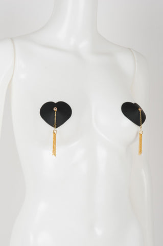 Chérie Heart Chain Pasties