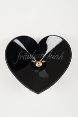 Onyx Double Heart Pasties - Fräulein Kink  - 4
