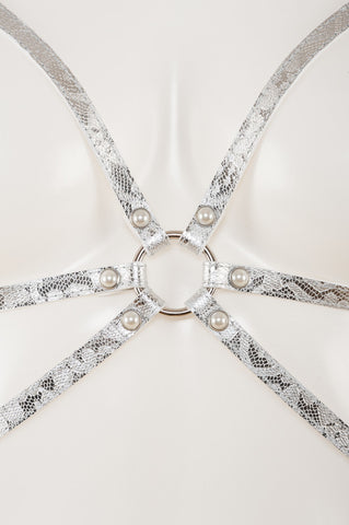 Silver Lace Harness
