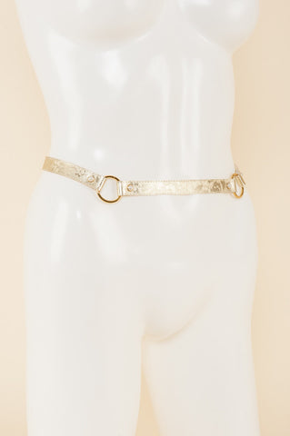 Gold Lace Belt