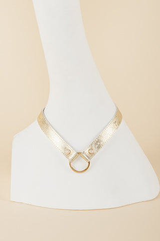 Gold Lace Collar