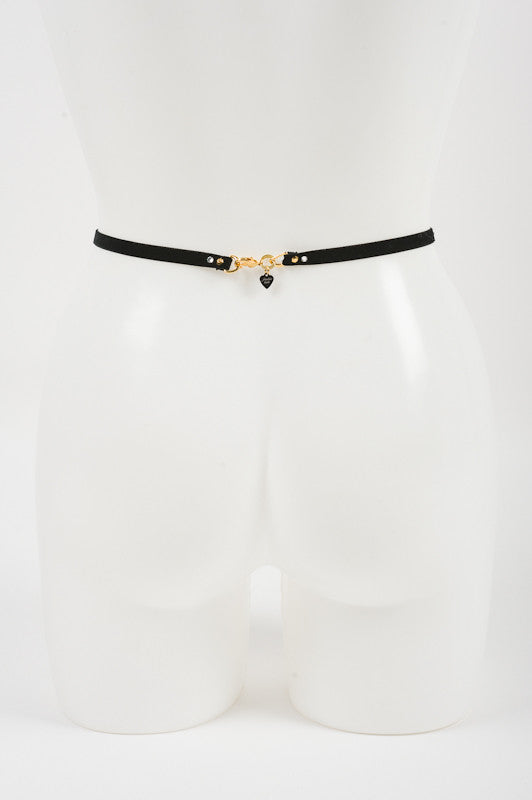 Patent Leather natural Waist Belt