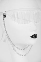 White Wedding Blindfold - Fräulein Kink  - 5