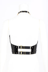 Rica Molded Corset in Black Patent Leather by Fraulein Kink
