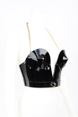 Fraulein Kink Rica Bustier Black Patent Leather