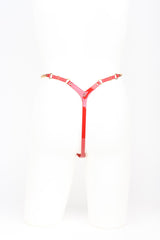 Roja Mini string in red and gold by Fraulein Kink