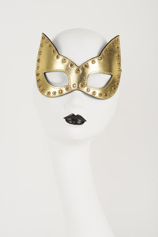 Champagne Crystal Mask