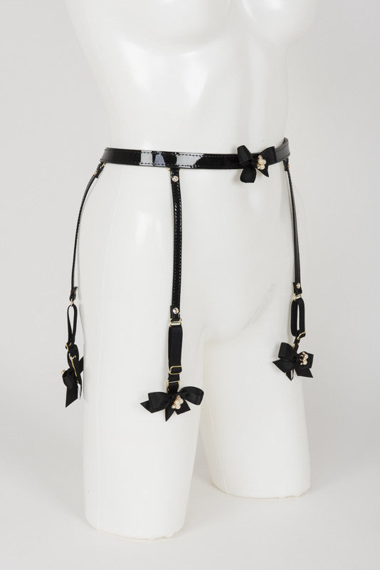 Ritsy Suspender Belt - Fräulein Kink Private Access  - 10