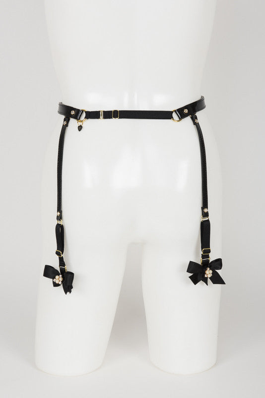 Ritsy Suspender Belt - Fräulein Kink Private Access  - 11