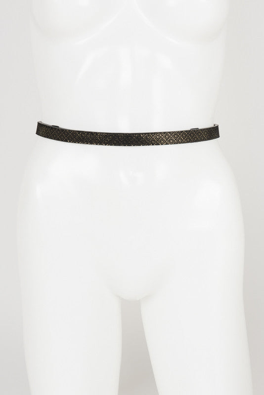 Lush Suspender Belt - Fräulein Kink Private Access  - 12
