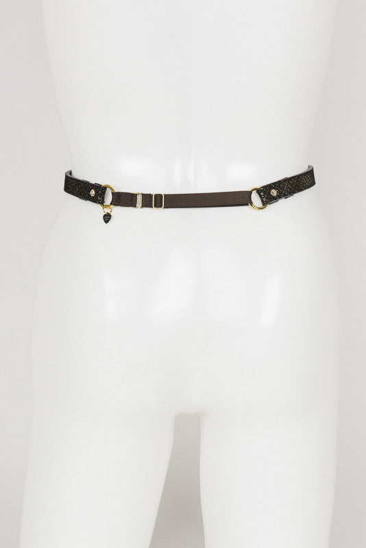 Lush Suspender Belt - Fräulein Kink Private Access  - 13
