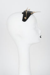 Ritsy Gold Kitten Fascinator - Fräulein Kink Private Access  - 4
