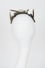 Ritsy Gold Kitten Fascinator - Fräulein Kink Private Access  - 6