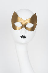 Lavish Molded Kitten Mask