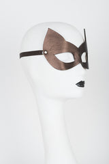 Lush Chocolate Molded Kitten Mask - Fräulein Kink Private Access  - 4