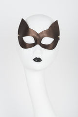 Lush Chocolate Molded Kitten Mask - Fräulein Kink Private Access  - 1