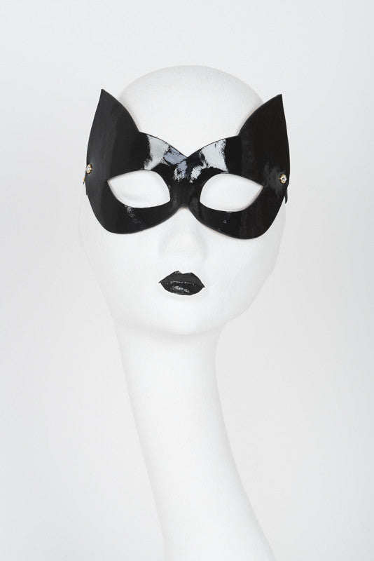 Ritsy Molded Kitten Mask - Fräulein Kink Private Access  - 1