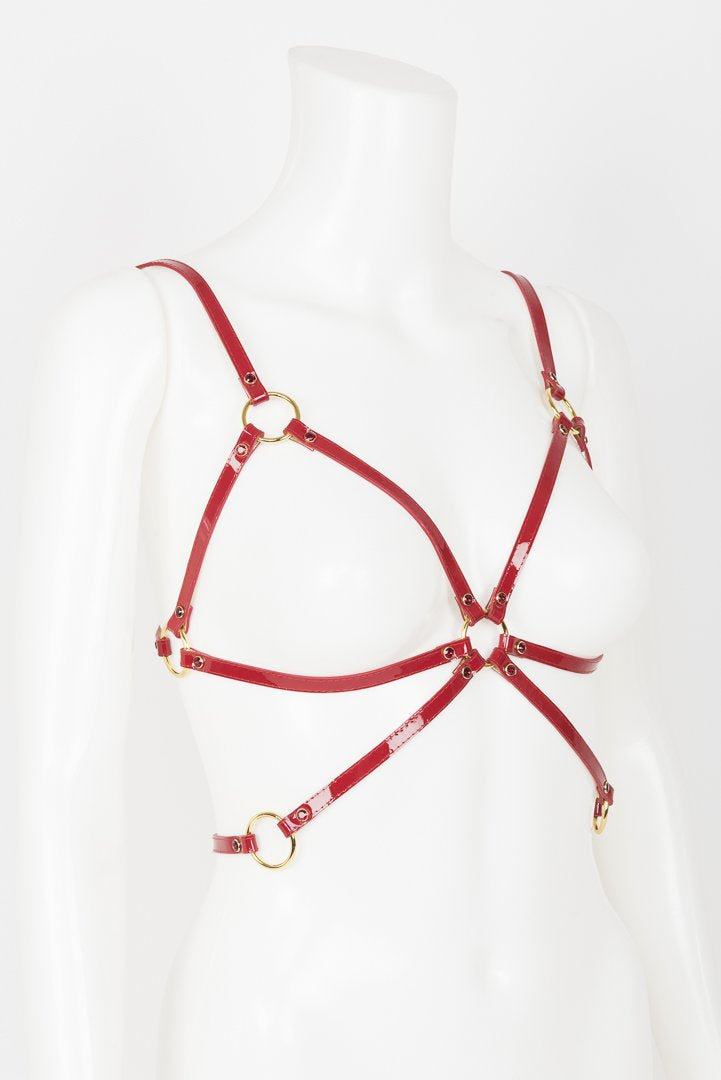 Red Hot Cage Harness