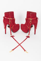 Red Hot Heel Restraints