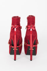 Red Hot Heel Cuffs