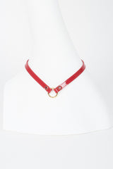 Red Hot Skinny Collar