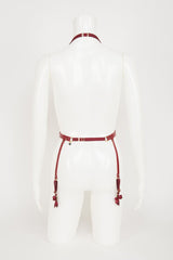 Red Hot Suspender Belt