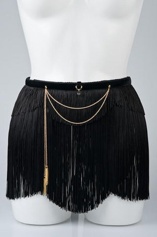 Fringe Maid Skirt