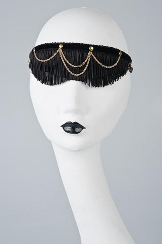 Fringe Maid Blindfold