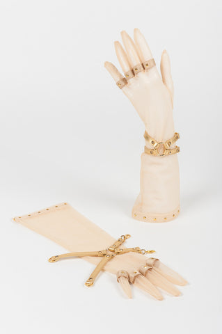 Champagne Gloves