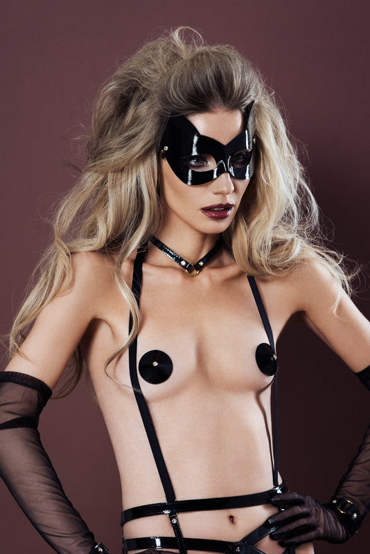 Ritsy Molded Kitten Mask - Fräulein Kink Private Access  - 2