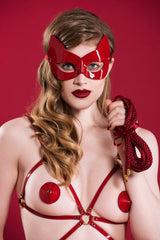 Red Hot Bondage Set