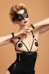 Onyx Double Chain Pasties - Fräulein Kink  - 2