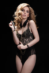 Black BLVD 5th Avenue Bodysuit - Fräulein Kink  - 6