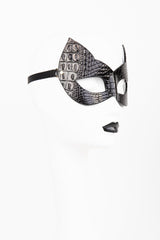 Buy Fraulein Kink Black Crocco Cat Mask Online