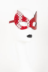 Luxury Patent Leather Kitten Mask Buy Online at Fraulein Kink