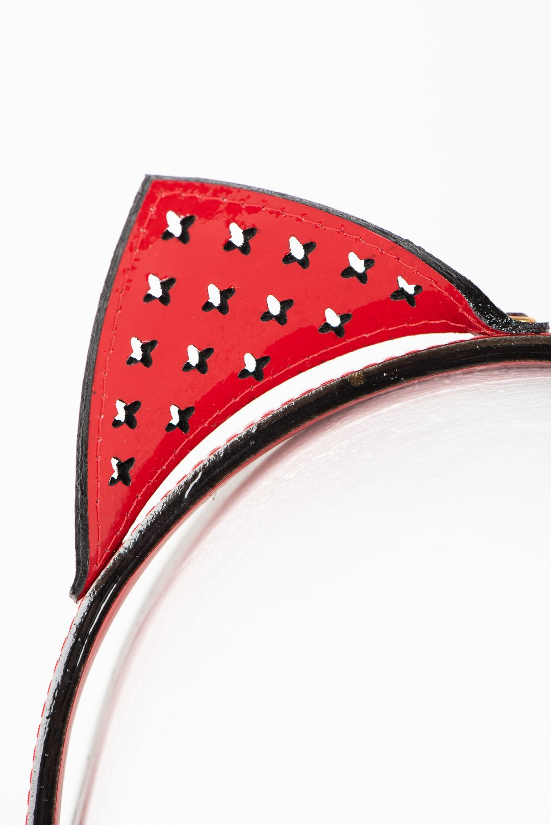 Luxury Patent Leather Kitten Headband Buy Online at Fraulein Kink