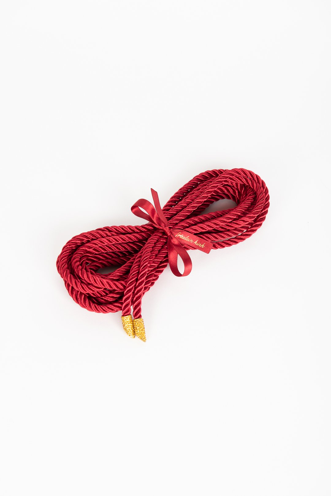 Luxury Lasso Bondage Rope With Crystal Tip buy online at Fraulein Kink