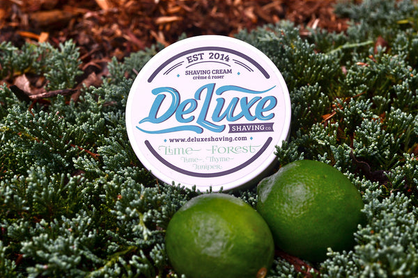"DeLuxe Shaving Cream ""Lime Forest"""